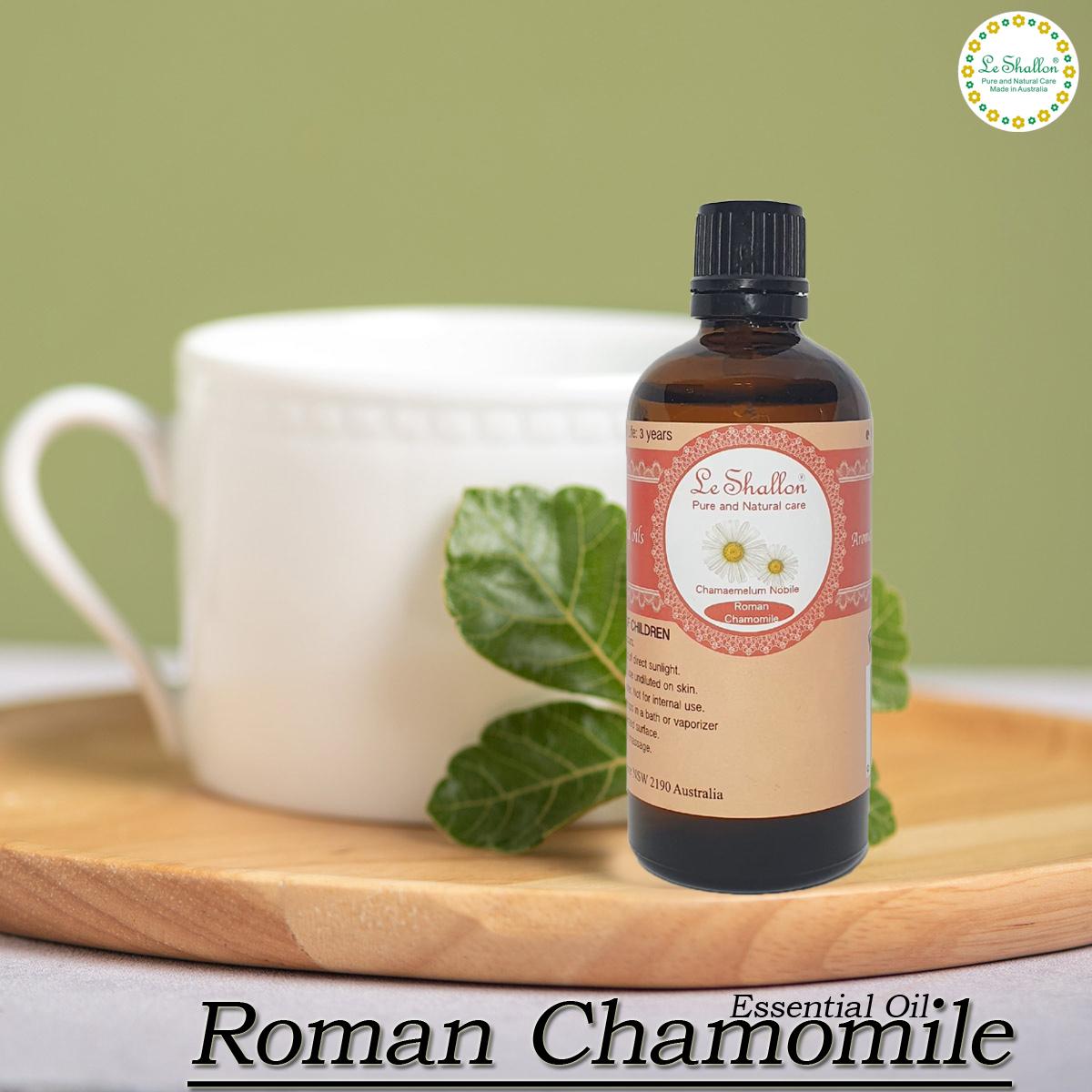 Organic Chamomile Essential Oil - German (Blue) Matricaria